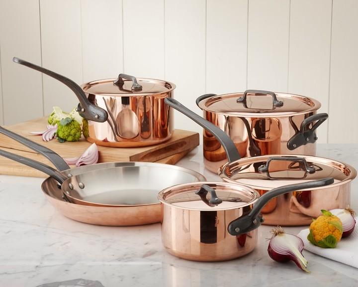 Mauviel M250 Copper 10-Piece Cookware Set