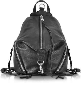 Rebecca Minkoff Julian Black Leather Medium Backpack