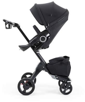 Stokke Xplory® Stroller w/ Parasol, True Black