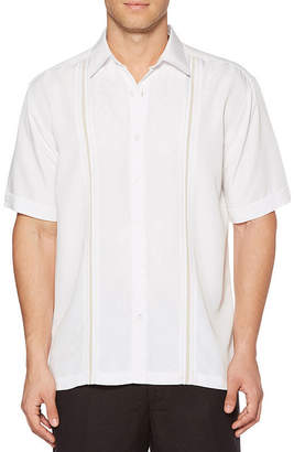 Cubavera Short Sleeve Button-Front Shirt