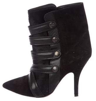 Isabel Marant Multistrap Pointed-Toe Booties