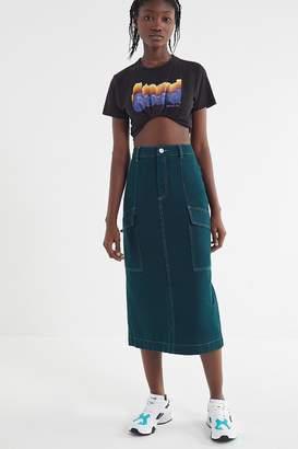 BDG Carpenter Midi Skirt