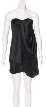 ADAM by Adam Lippes Silk Strapless Mini Dress w/ Tags