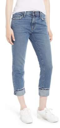 Current/Elliott The Fling Cuff Boyfriend Jeans