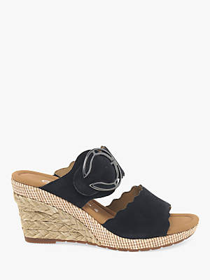 279cc8bdd33 at John Lewis and Partners · Gabor Kent Wide Fit Wedge Heel Sandals