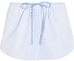 Alexander Wang Striped Cotton Shorts