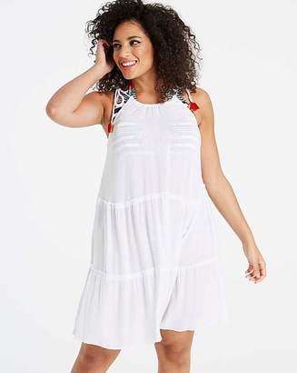 Simply Yours Pom Pom Tie Dress