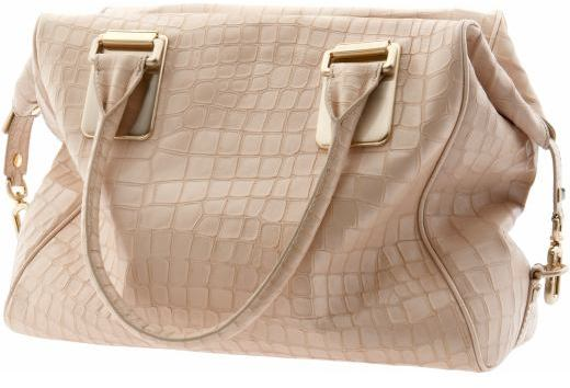 Wilshire croc-embossed convertible satchel