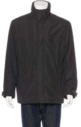 Andrew Marc Layered Quilt-Lined Jacket