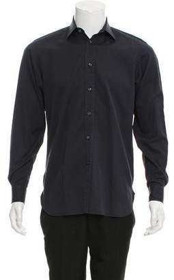 Ralph Lauren Purple Label Woven Button-Up Shirt