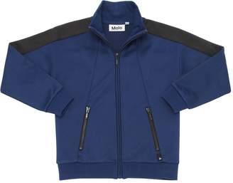 Molo Zip-Up Cotton Blend Sweatshirt