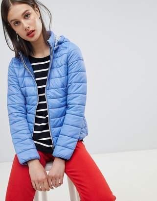 Esprit Hooded Padded Short Jacket