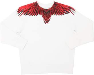 Marcelo Burlon County of Milan WINGS コットンスウェットシャツ