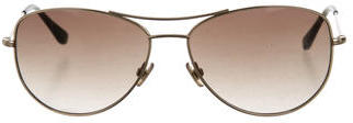 Kate Spade Kate Spade New York Aviator Gradient Sunglasses