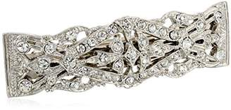 1928 Bridal Crystal Hair Barrette