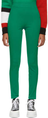 Anton Belinskiy Green Stretch Trousers
