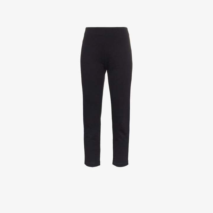 A Plan A_Plan_Application mid rise cropped slim fit jeans
