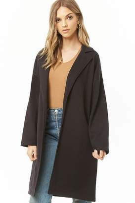 Forever 21 French Terry Trench Coat