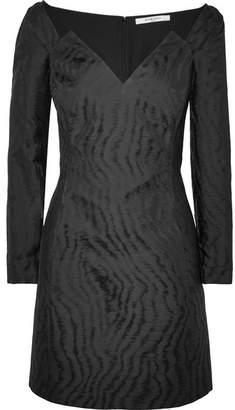 Givenchy Moire-jacquard Mini Dress - Black