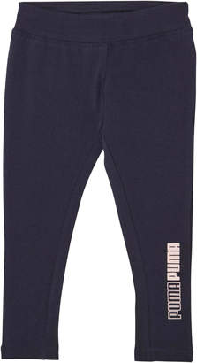 Ctn/Spandex Fashion Legging W/ Half Print Inserts- Inf