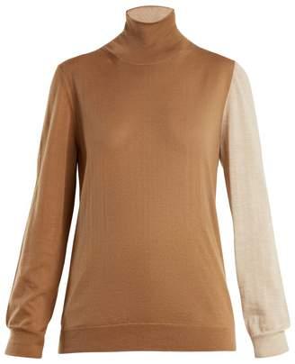 Marni Roll-neck cashmere-knit sweater