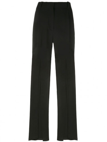 BalmainBalmain Stretch-knit wide-leg pants