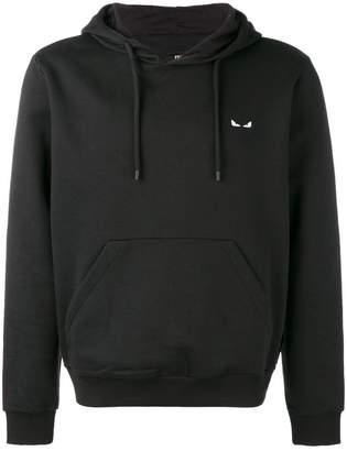 Fendi Bag Bugs eyes hooded sweatshirt