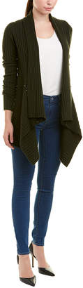 Autumn Cashmere Draped Wool & Cashmere-Blend Cardigan