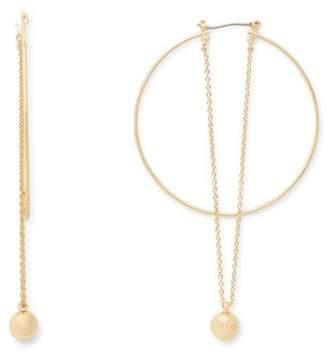 Rebecca Minkoff Ball And Chain Hoops