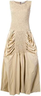 J.W.Anderson smocked bodice balloon dress
