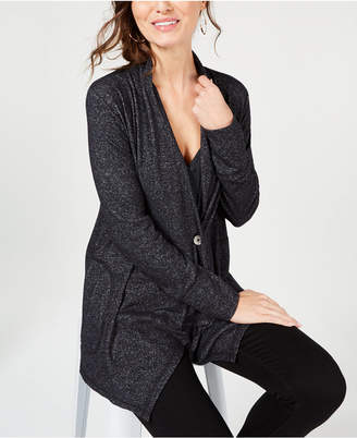 Style&Co. Style & Co Single-Button Knit Cardigan