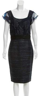 Rachel Roy Textured Fil-coupé Dress $130 thestylecure.com