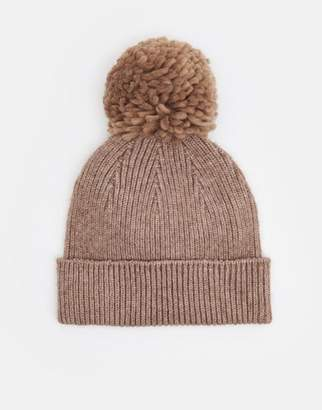 Joules Oat Marl Gracie Chenille Hat