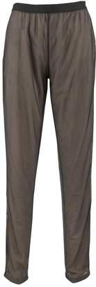 Maison Margiela Brown Polyamide Trousers