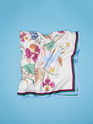 Bezou Silk Twill Scarf $178 thestylecure.com
