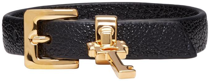 Miu MiuMiu Miu Black Key Bracelet