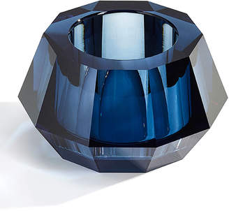 Swarovski Round Crystal Votive Candleholder, Blue