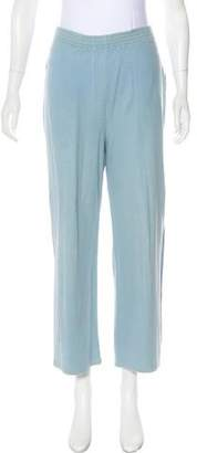 Sonia Rykiel High-Rise Cropped Pants