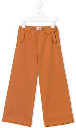 Il Gufo fringed culotte trousers