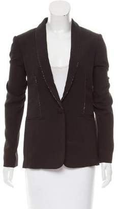 Redemption Structured Chain-Embellished Blazer