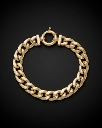 14K Italian Gold Curb Bracelet