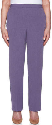 Alfred Dunner Smart Investments Relaxed Fit Woven Pull-On Pants
