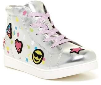 Mia Twlight Patch Hi-Top Sneaker (Little Kid)