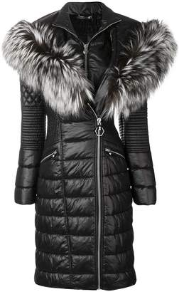 Philipp Plein padded parka coat