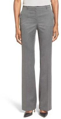 Ellen Tracy Twill Bootcut Trousers $99.50 thestylecure.com