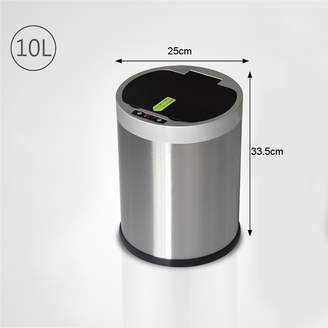 +Hotel by K-bros&Co Vory Rechargeable Smart Trash Hotel Supermarket Bank Office Area Trash Can Household Trash Can 25x25x33.5cm