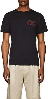 Saturdays NYC Men's Wave Condensed Cotton Jersey T-Shirt