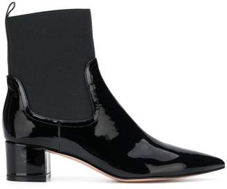 Gianvito Rossi varnished ankle boots