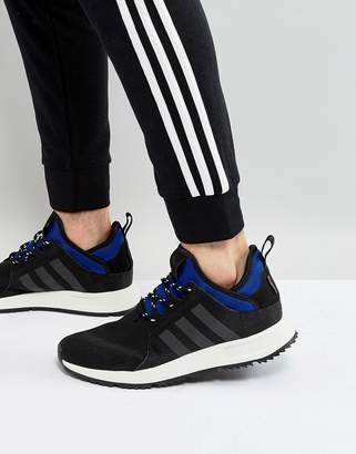 adidas X PLR Boot Sneakers In Black BZ0671