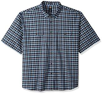 Dickies Men's Plaid Short Sleeve Shirt Big